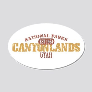 Canyonlands National Park UT 22x14 Oval Wall Peel