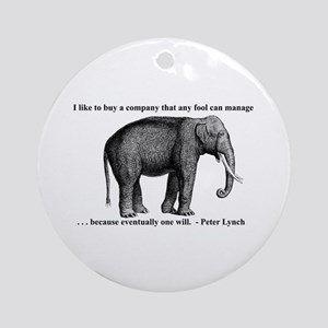 A Wise Elephant (ornament)