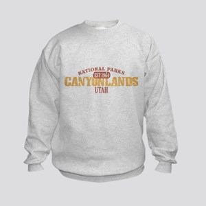 Canyonlands National Park UT Kids Sweatshirt