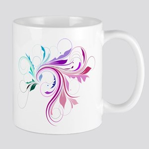 Colorful flourish Mug