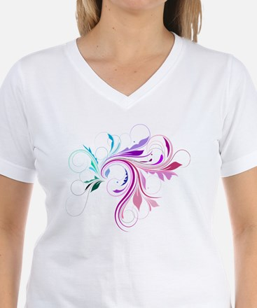 Colorful flourish Shirt