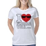 I Love Florida USA Women's Classic T-Shirt
