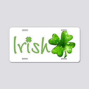 Irish Keepsake Aluminum License Plate