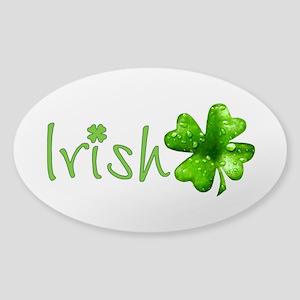 Irish Keepsake Sticker (Oval)