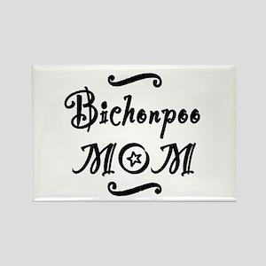 Bichonpoo MOM Rectangle Magnet