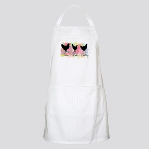 Peace Love And Poultry Apron