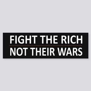 Fight The Rich - Sticker (Bumper)