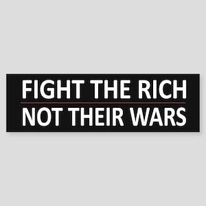 Fight The Rich - Sticker (Bumper)