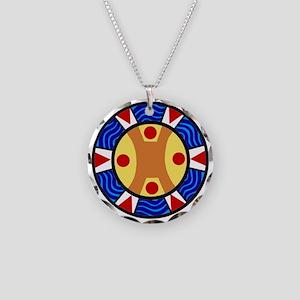 UCTP TAINO LOGO Necklace Circle Charm