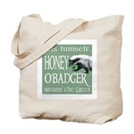 Honey O'Badger Tote Bag