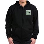 Honey O'Badger Zip Hoodie (dark)