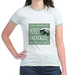 Honey O'Badger Jr. Ringer T-Shirt