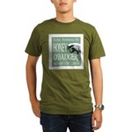 Honey O'Badger Organic Men's T-Shirt (dark)