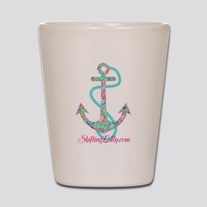 Anchor Shot Glass