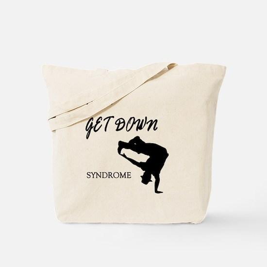 I have get down male dancer Tote Bag