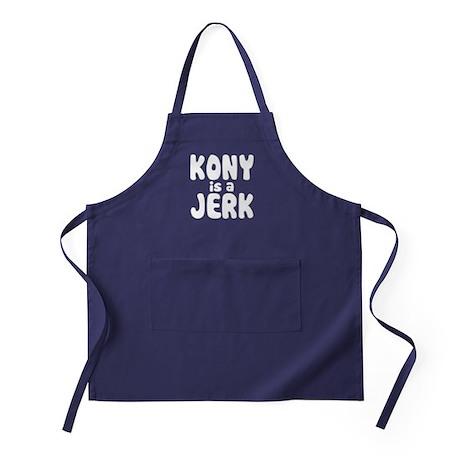 Kony is a Jerk Apron (dark)