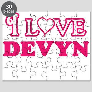 I Love Devyn Puzzle