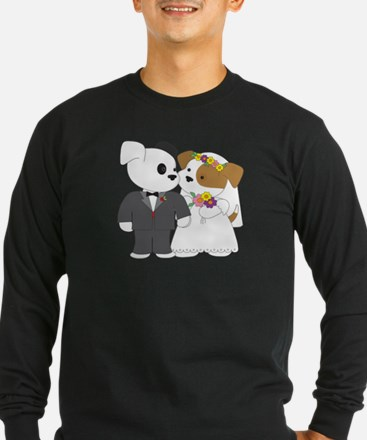 Cute Puppy Marriage T
