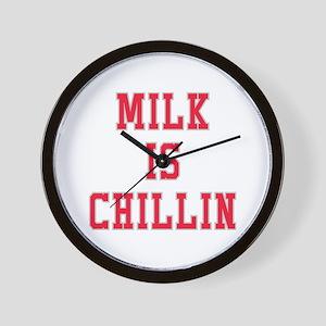 Milk Is Chillin Wall Clock