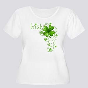 IrishShamrockSCTR Plus Size T-Shirt