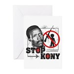 Stop Kony Greeting Cards (Pk of 20)