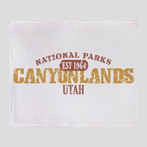 Canyonlands National Park UT Throw Blanket