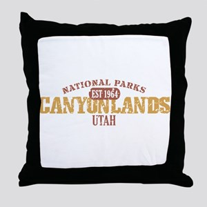 Canyonlands National Park UT Throw Pillow