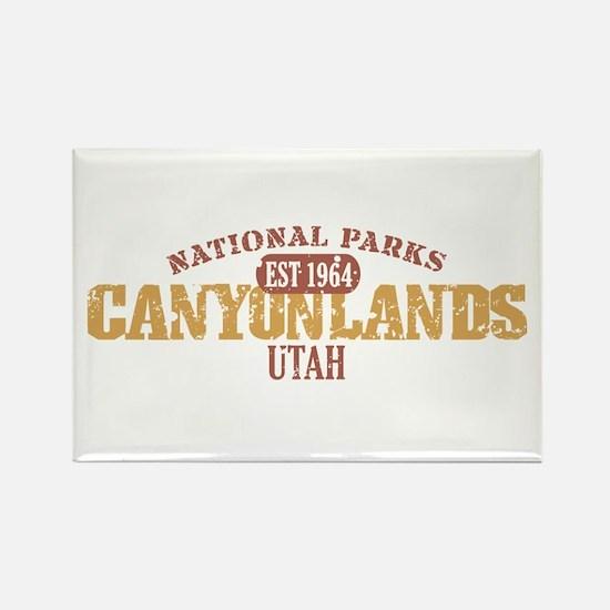 Canyonlands National Park UT Rectangle Magnet