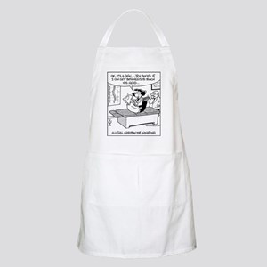 Chiropractor Wagering BBQ Apron