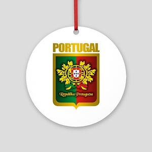 """""""Portuguese Gold"""" Ornament (Round)"""