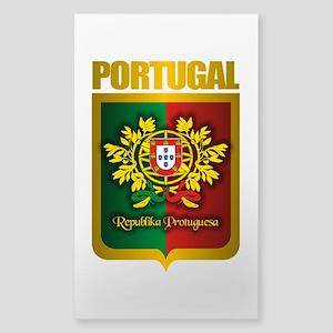 """""""Portuguese Gold"""" Sticker (Rectangle)"""