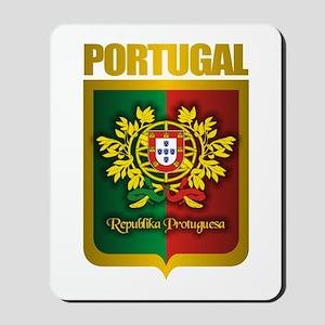 """Portuguese Gold"" Mousepad"