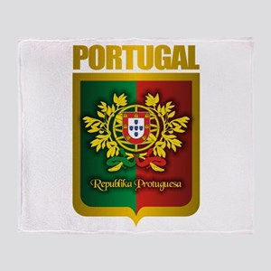 """Portuguese Gold"" Throw Blanket"