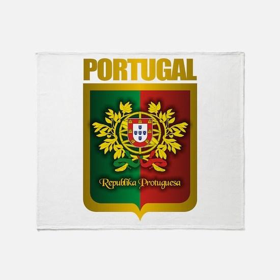 """Portuguese Gold"" Throw Blanket"
