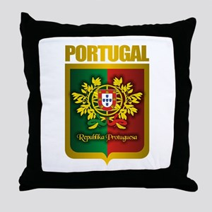 """Portuguese Gold"" Throw Pillow"