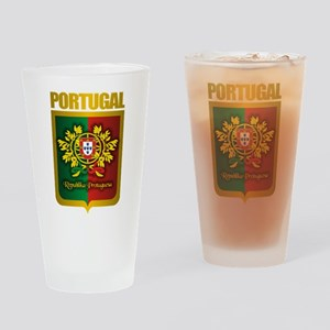 """Portuguese Gold"" Drinking Glass"