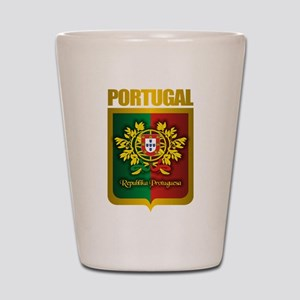 """Portuguese Gold"" Shot Glass"