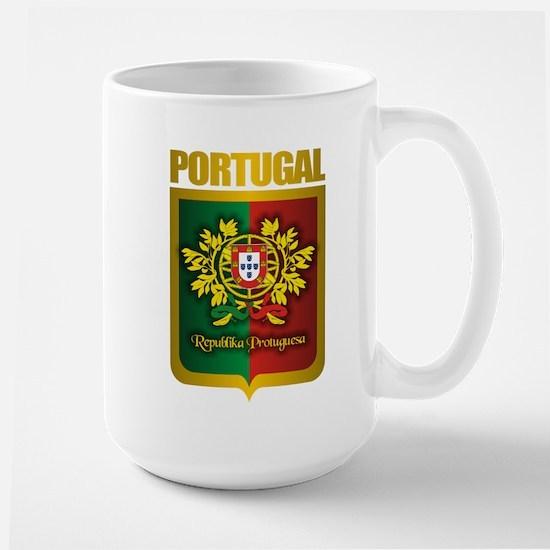 """""""Portuguese Gold"""" Large Mug"""