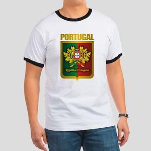 """Portuguese Gold"" Ringer T"