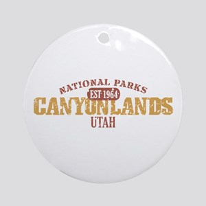Canyonlands National Park UT Ornament (Round)