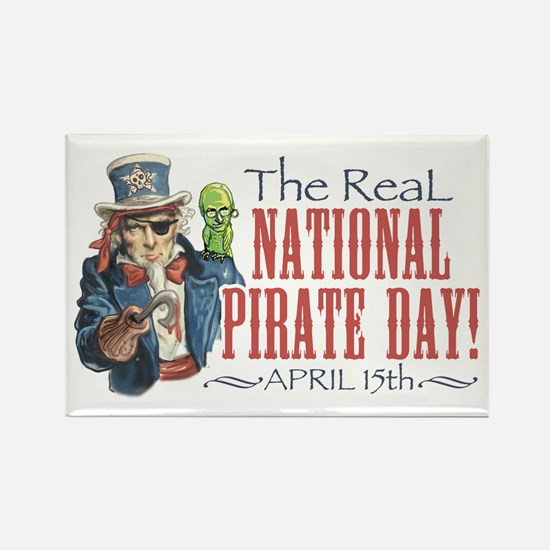 National Pirate Day Rectangle Magnet