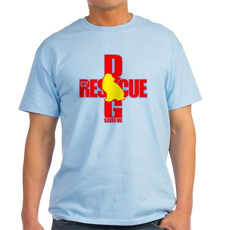 Rescue Dog Savior #8 Light T-Shirt