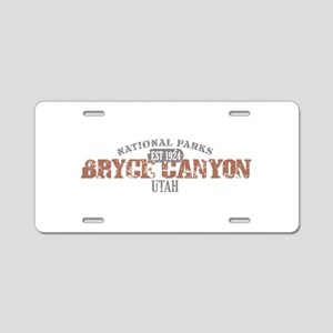 Bryce Canyon National Park UT Aluminum License Pla