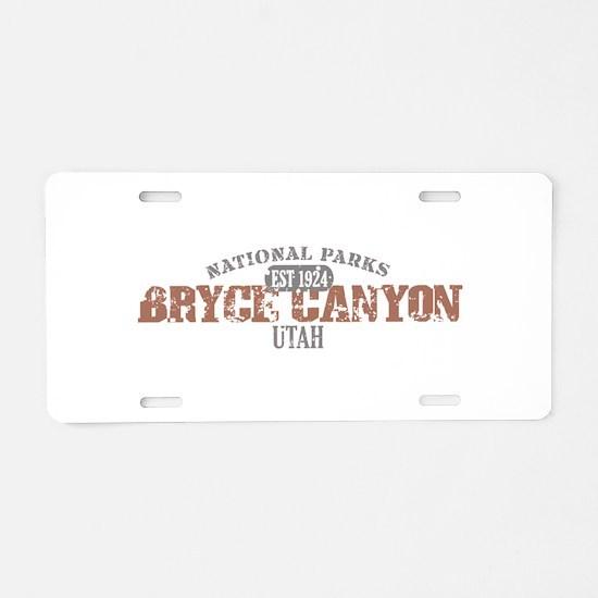Bryce Canyon National Park UT Aluminum License Pla