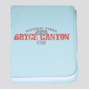 Bryce Canyon National Park UT baby blanket