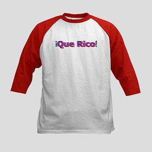 Que Rico Kids Baseball Jersey