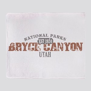 Bryce Canyon National Park UT Throw Blanket