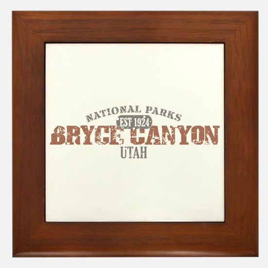 Bryce Canyon National Park UT Framed Tile