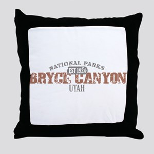 Bryce Canyon National Park UT Throw Pillow