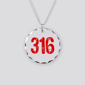316 Necklace Circle Charm
